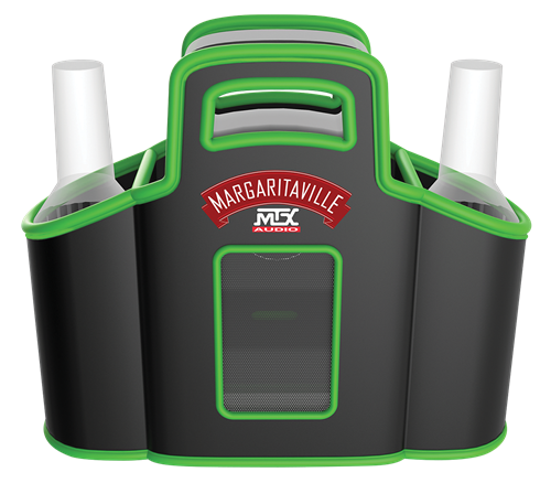 Picture of MTX Margaritaville Audio MVACCPP1WG Concert Caddy Party Pack