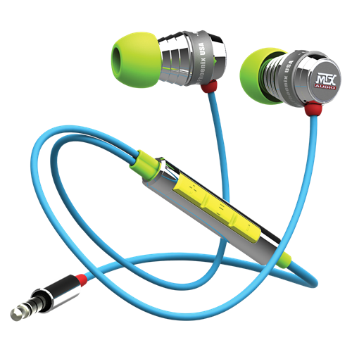 MiX2 MACAW Margaritaville Audio Multi-Color Premium In Ear Headphones