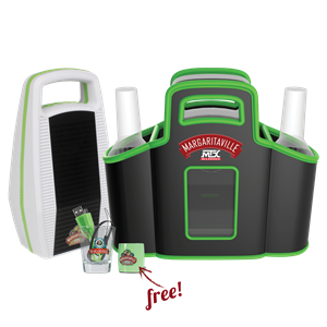 Picture of MTX Margaritaville Audio MVACCPP1WG Concert Caddy Party Pack and Sound Shot Bundle